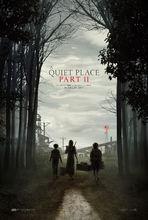 Plakat filmu Ciche miejsce 2