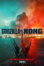 Movie poster Godzilla vs. Kong